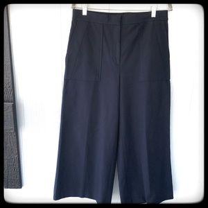 📂Ann Taylor Pants Navy Goucho Style sz 10